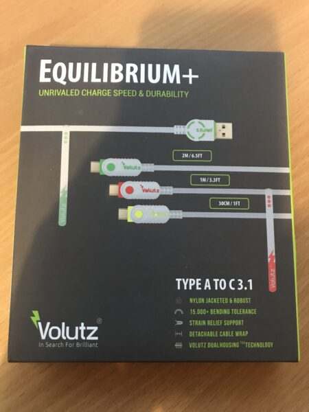 Volutz Cables Front of Box