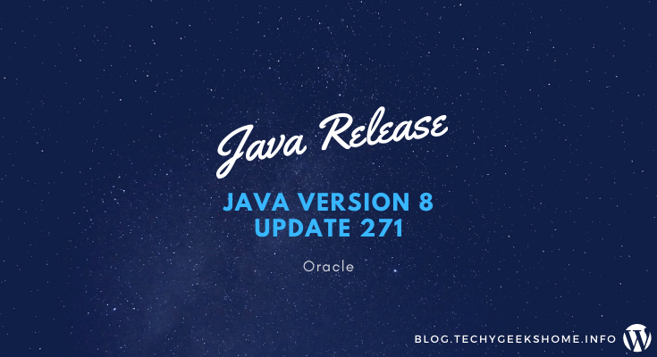 Java Version 8 Update 271 MSI Installers