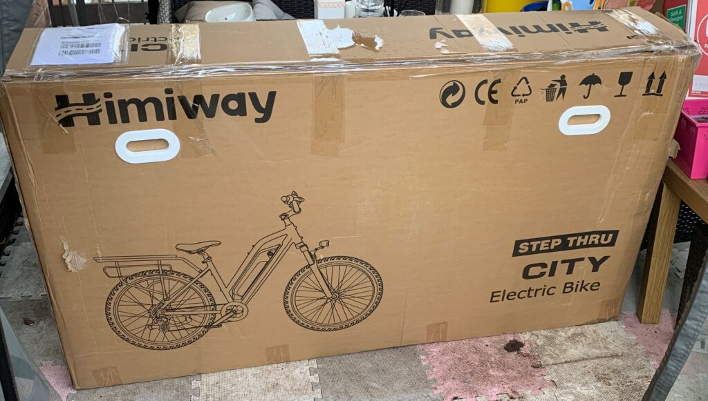 Himiway City Pedelec e-Bike Review 2
