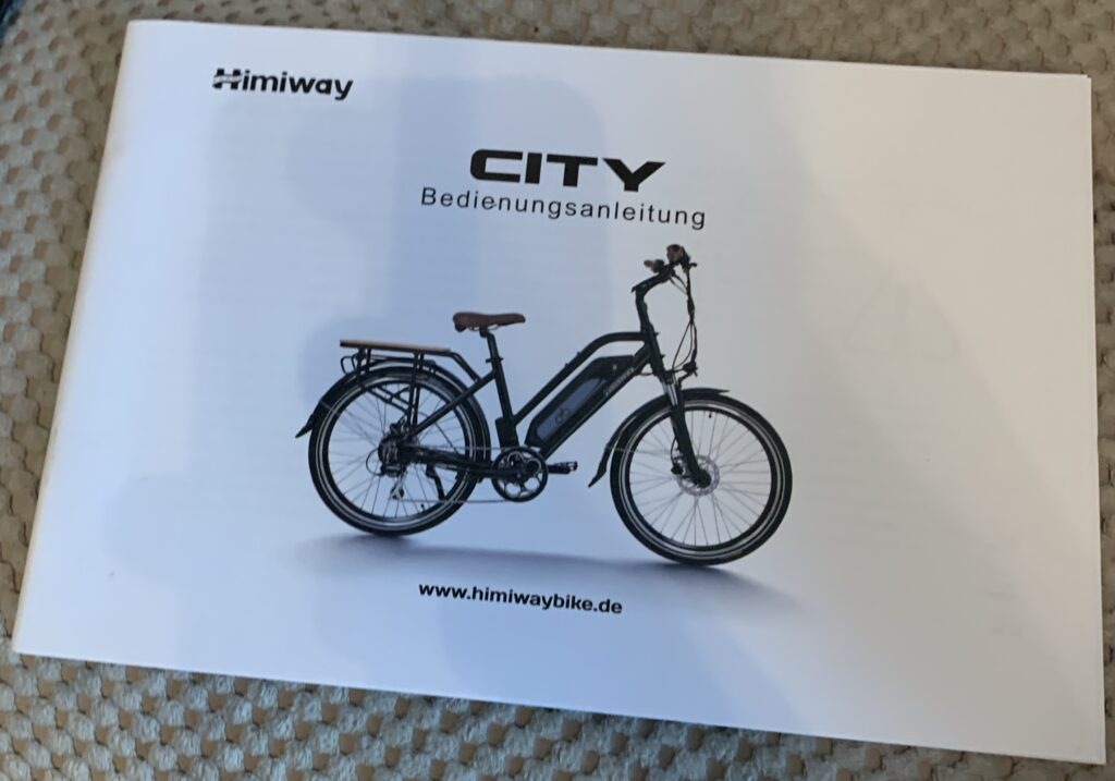 Himiway City Pedelec e-Bike Review 17