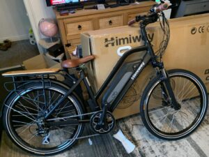 Himiway City Pedelec e-Bike Review 4