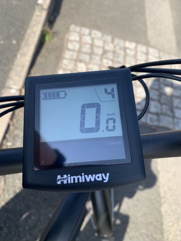 Himiway City Pedelec e-Bike Review 6