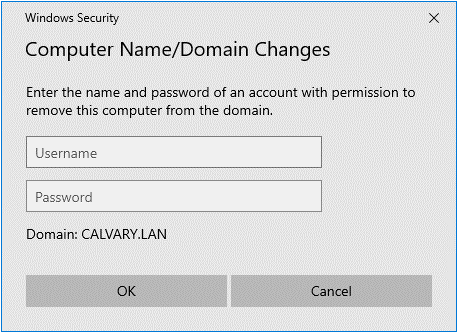 Fixing a Broken Connection to Active Directory 5
