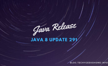 java msi version 8 update 291