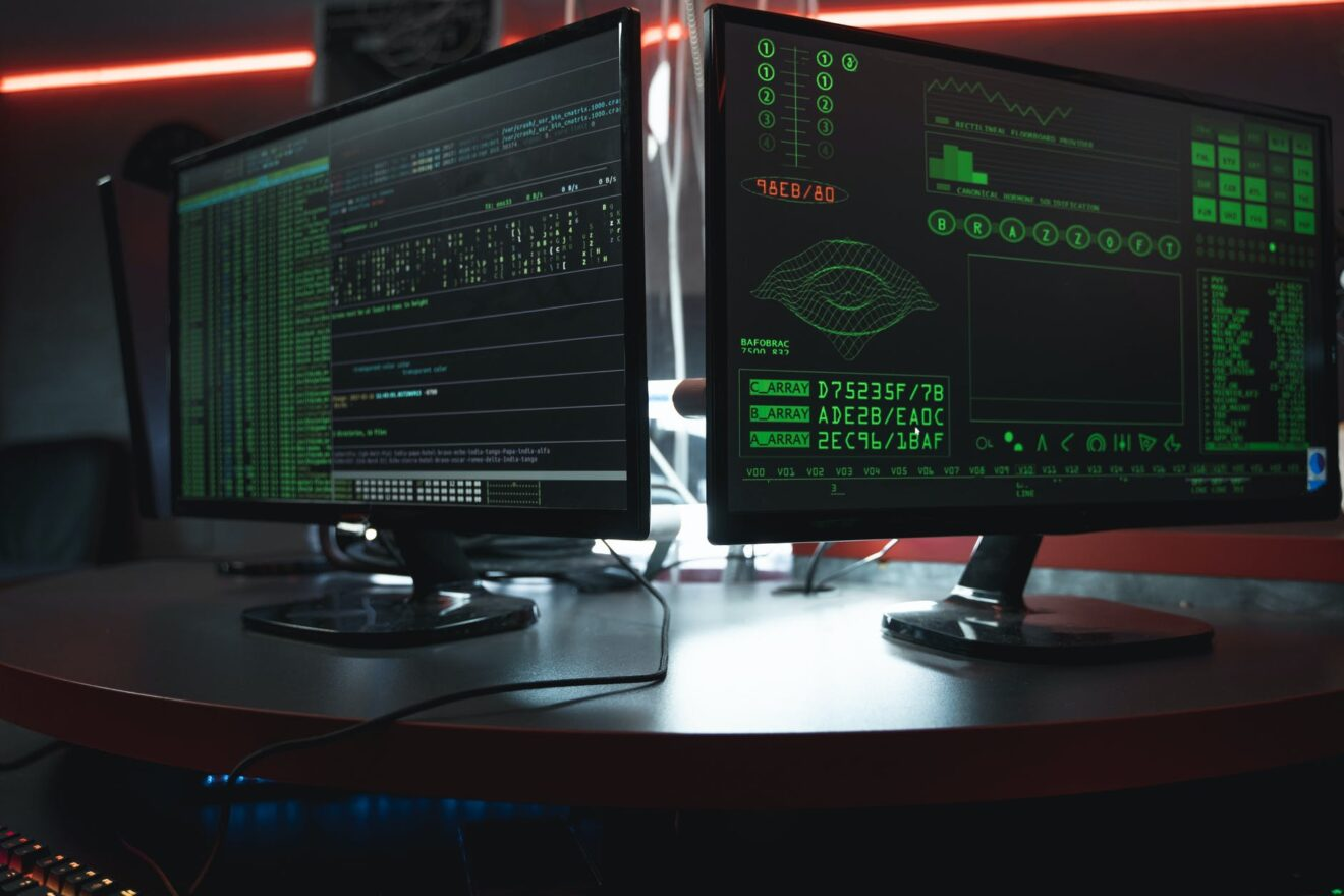 close up view of system hacking